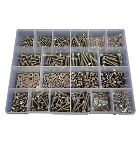 Balance of fasteners assortments