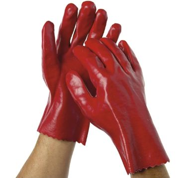 Pvc dipped gloves